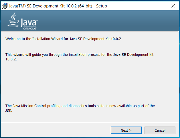 Java Installer Welcome
