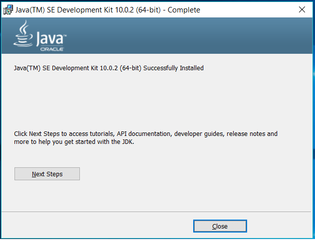 Java Installed