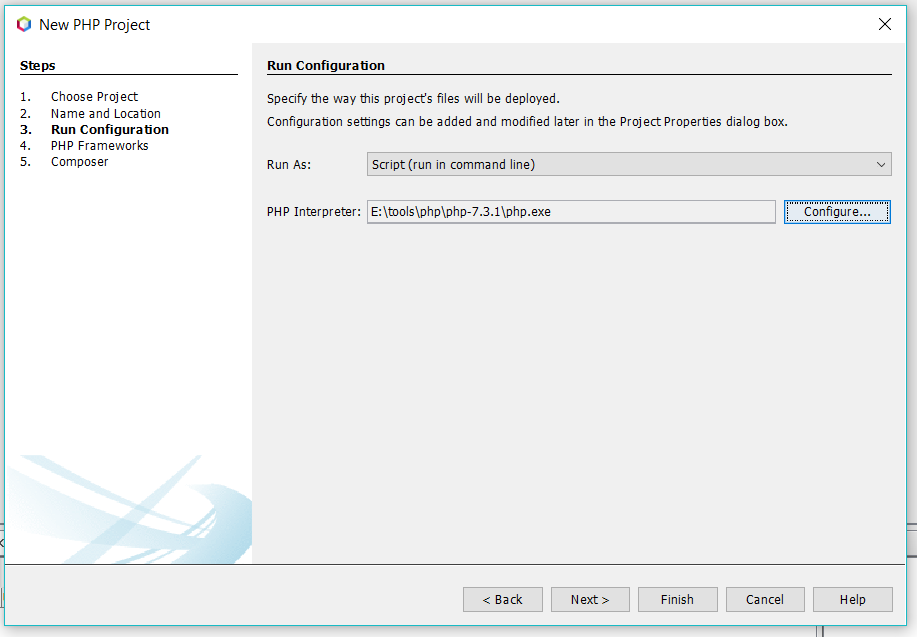 Configure Runtime