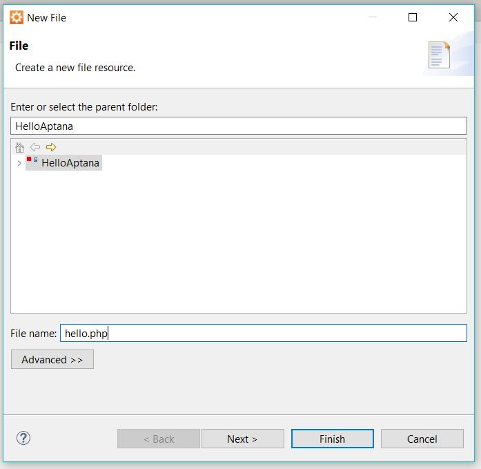 Configure File