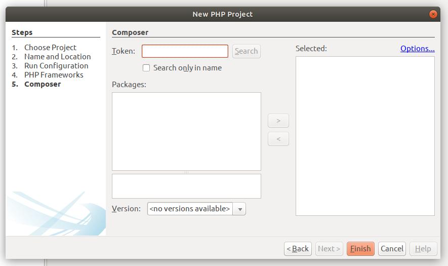 Configure Composer
