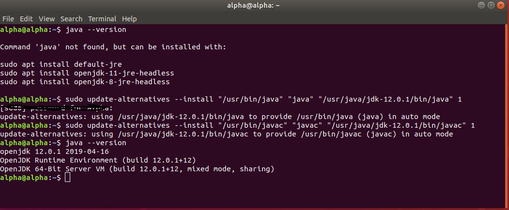 Configure OpenJDK