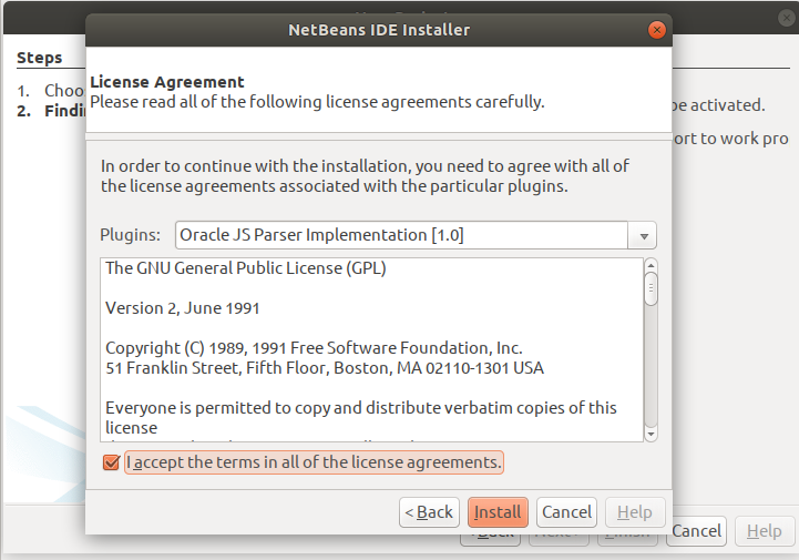 JS Parser License Agreement