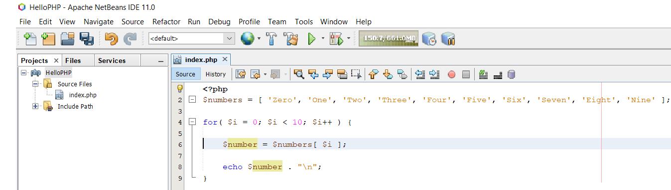 PHP Program for Debugging