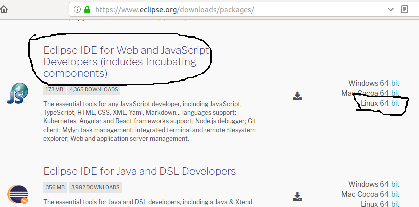 Download Eclipse for Web