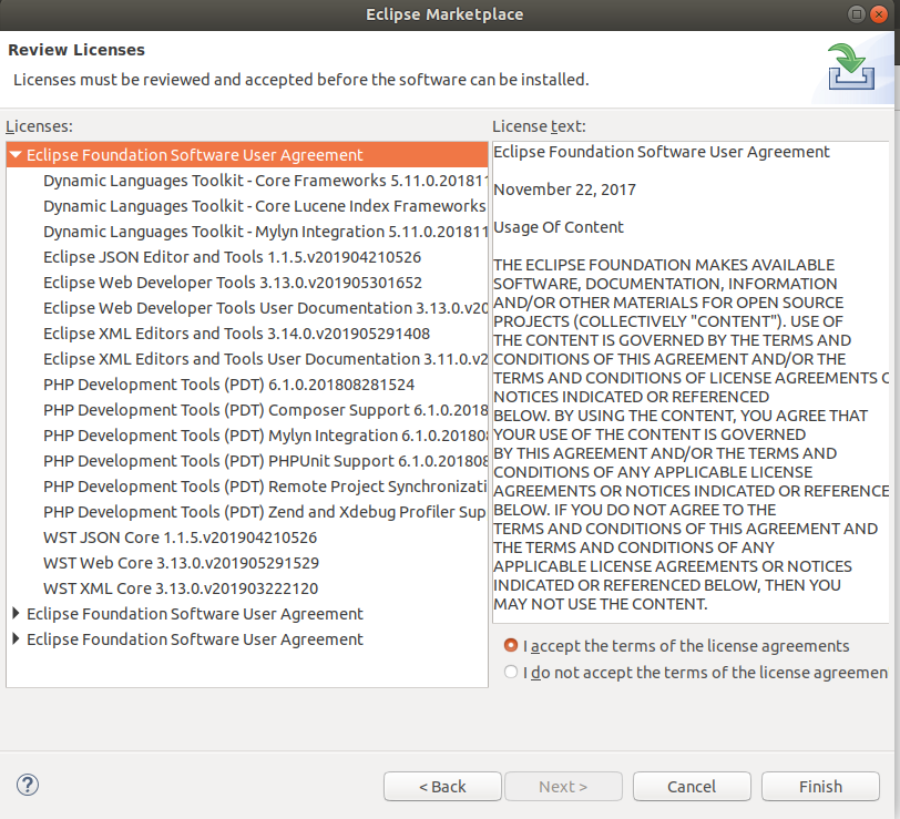 PDT License Agreement