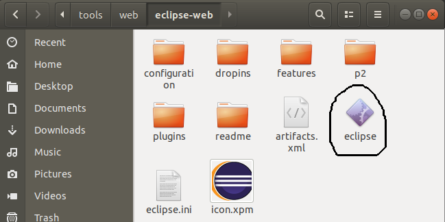 Eclipse for Web Installation