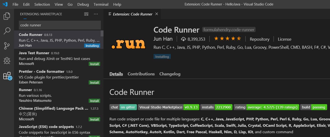 Visual Studio Code - Code Runner