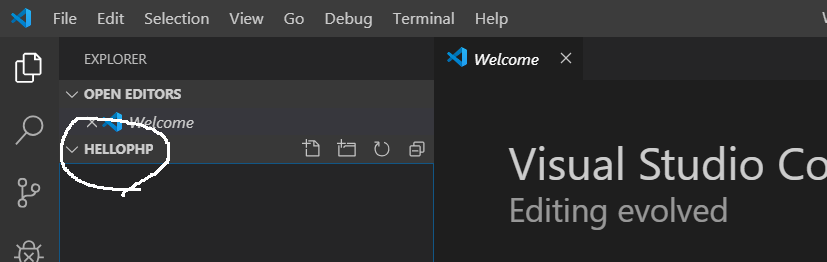 Visual Studio Code - Create Project