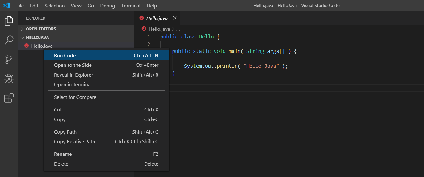 Visual Studio Code - Code Runner