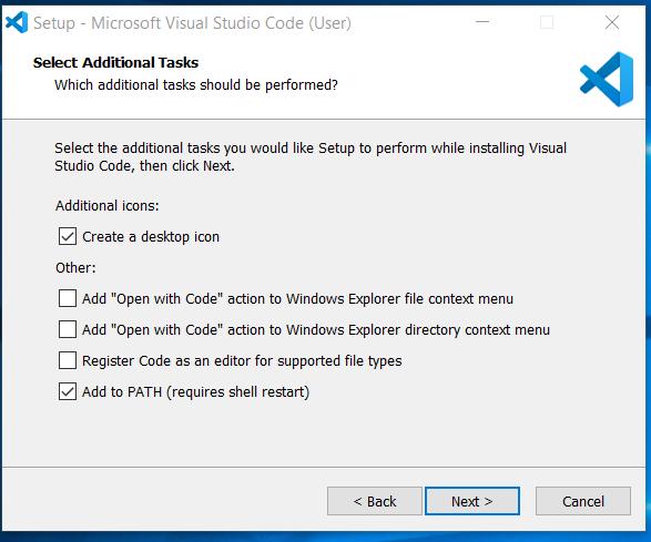 Additional Configuration Options