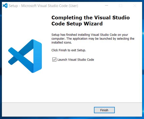 Installed Visual Studio Code