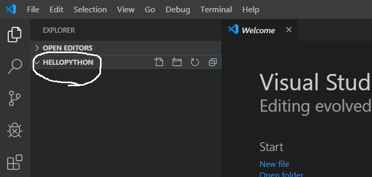 Visual Studio Code - Python Project