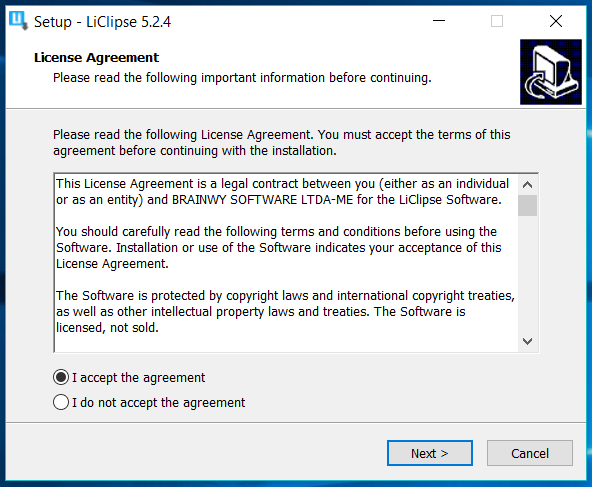 LiClipse License Agreement