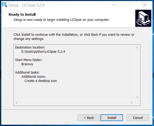 LiClipse Configuration