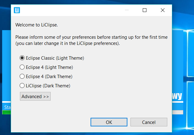 LiClipse Theme