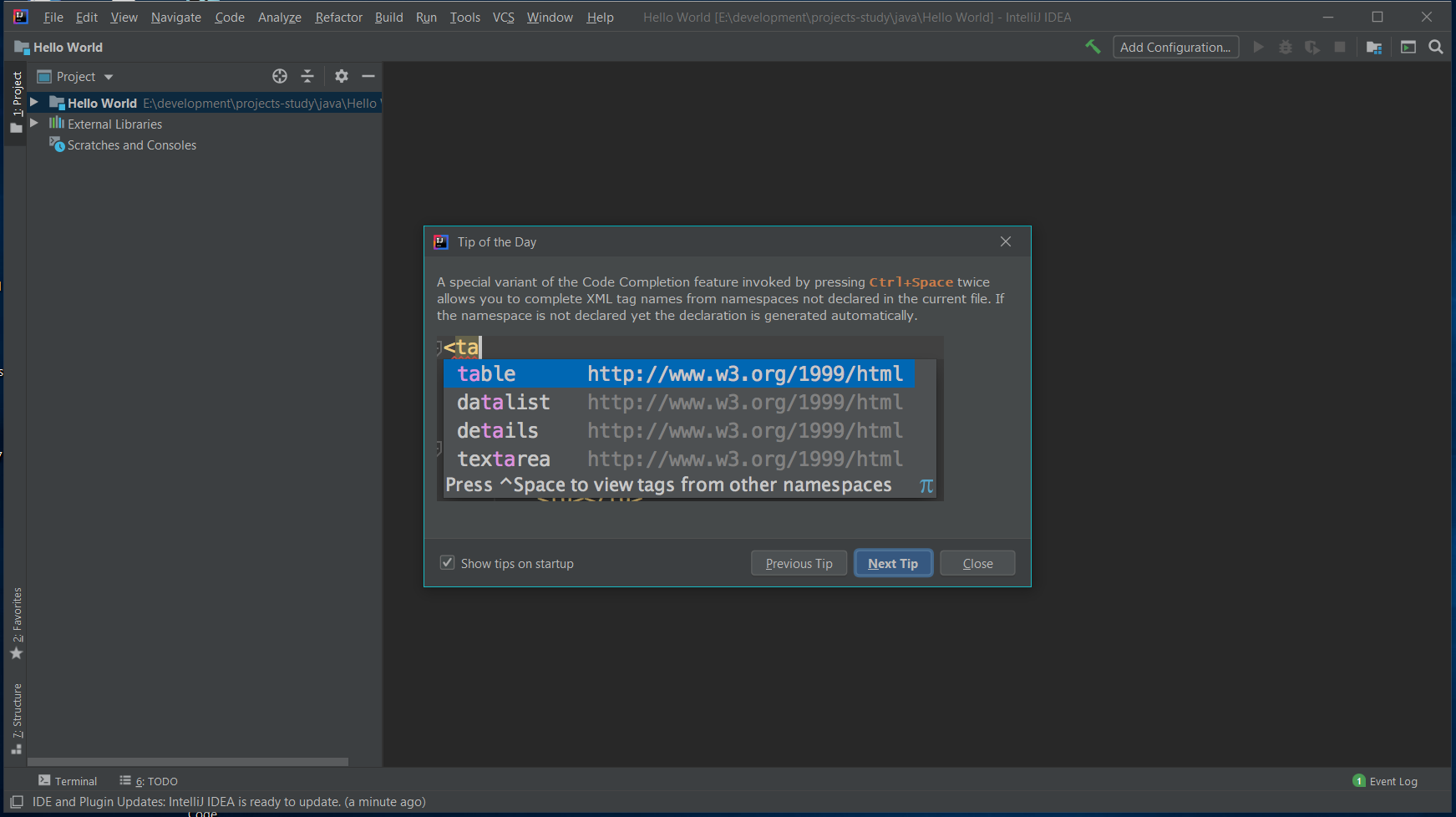 IntelliJ IDEA IDE
