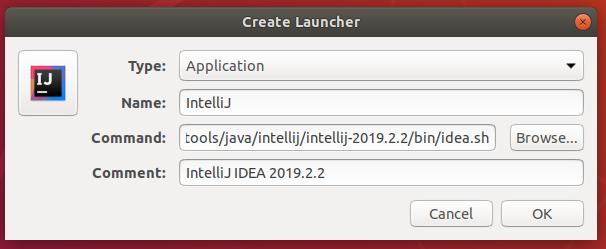 Intellij IDEA Desktop Shortcut