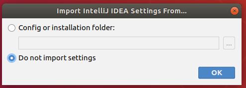 Intellij IDEA Import Settings