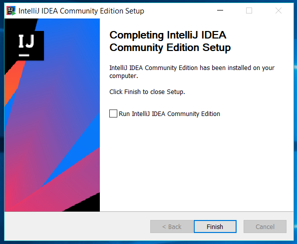 IntelliJ IDEA Installed