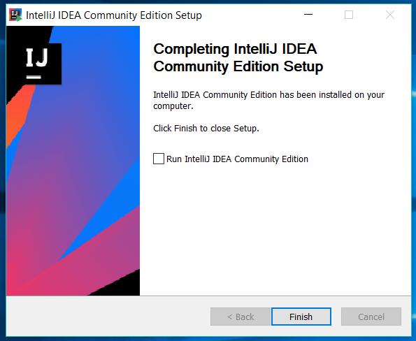 IntelliJ IDEA Installed