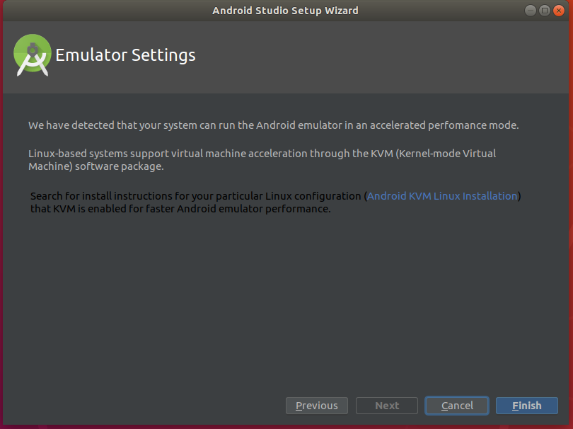 Android Studio Emulator Settings