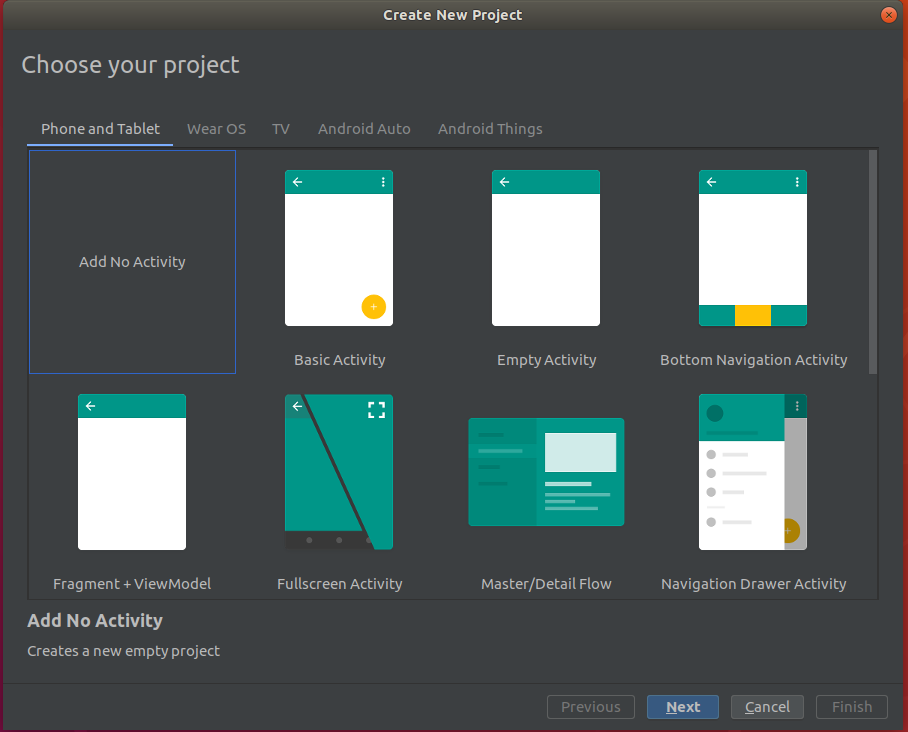 Android Studio Project Template