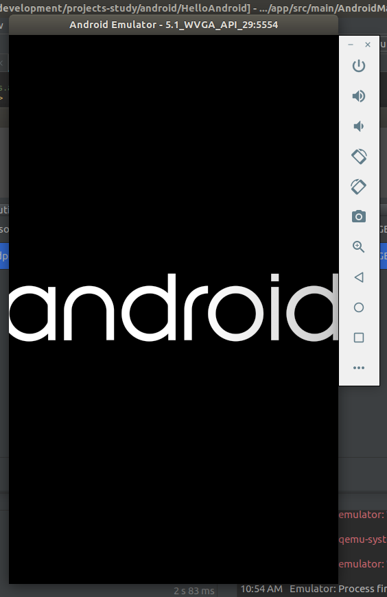 Android Studio AVD Launch