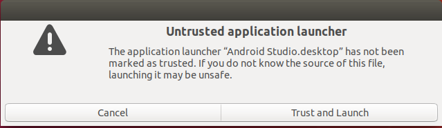 Android Studio Permission