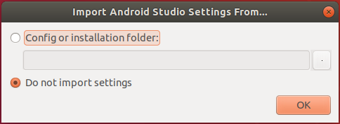 Android Studio Setting