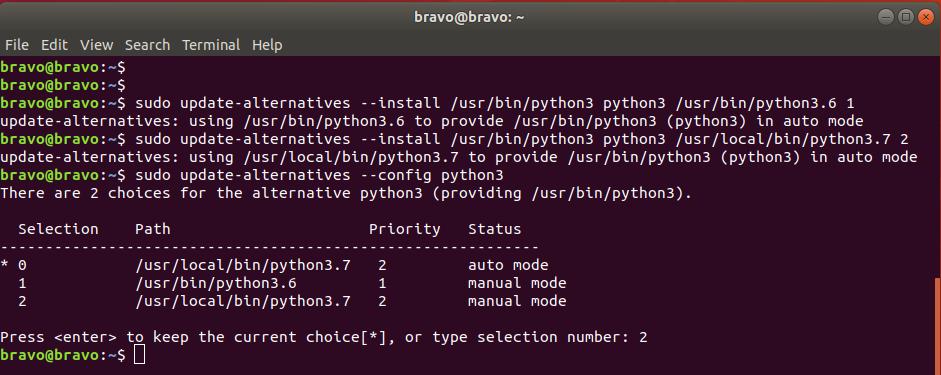Python on Ubuntu