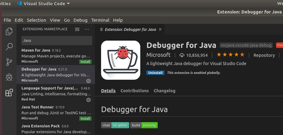 VSCode Java Debugger