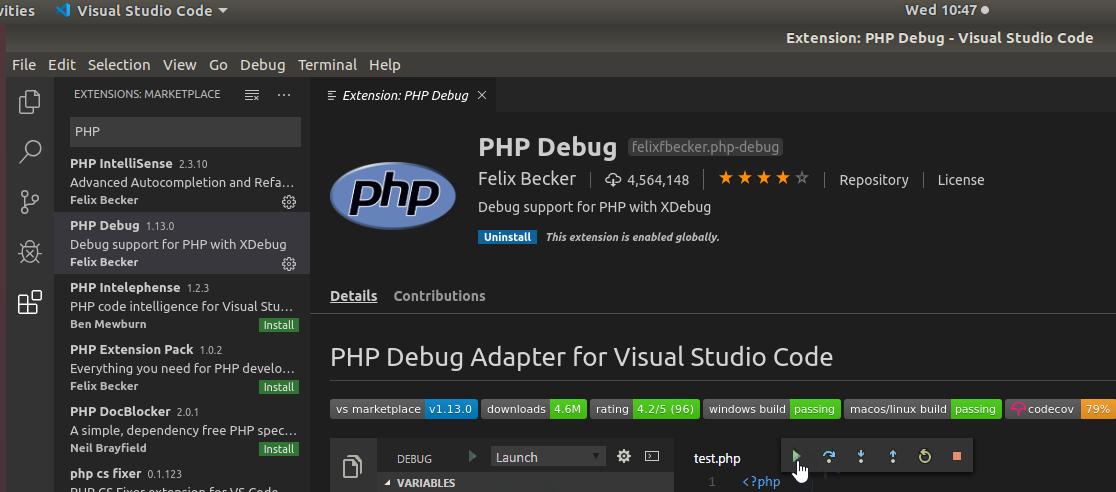 VSCode PHP Debug