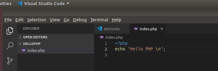 VSCode PHP Index updated