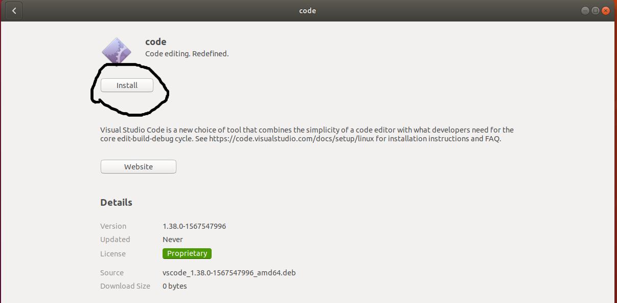 VSCode Install
