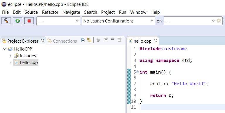 Eclipse - C/C++ - File Update
