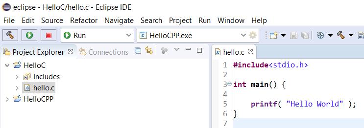 Eclipse - C - File