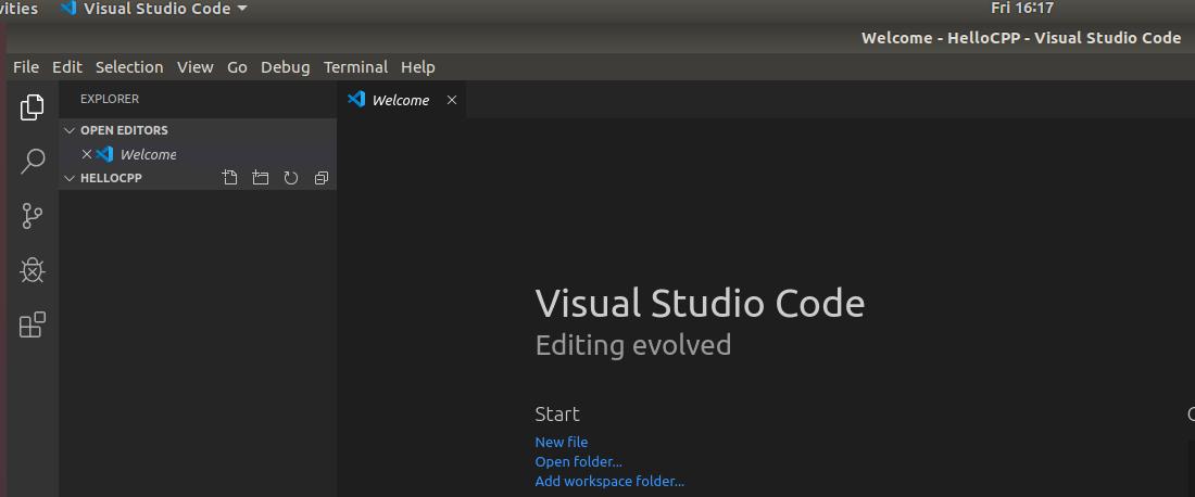 VSCode - C/C++ - Folder