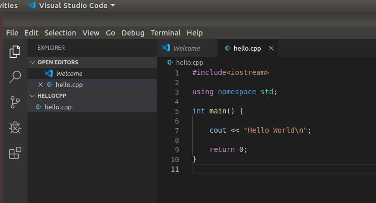 VSCode - C/C++ - File Update