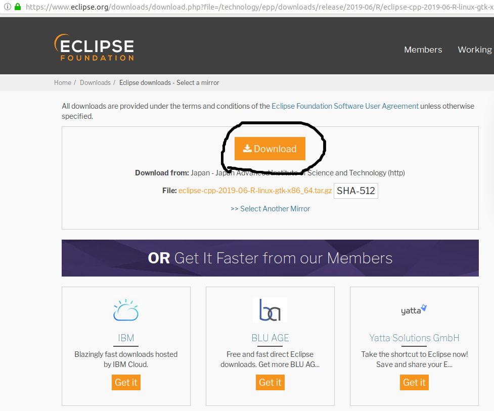 Eclipse - C/C++ - Download