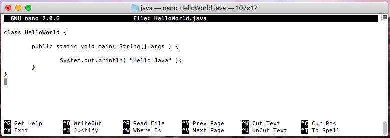 OpenJDK HelloWorld