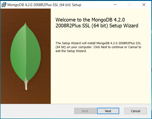 MongoDB Welcome