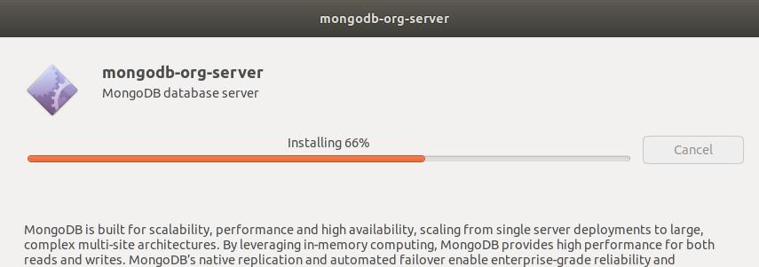 MongoDB Installing