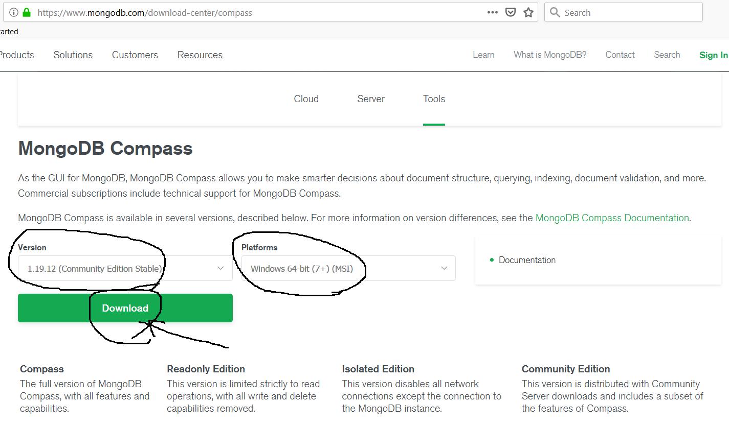 MongoDB Compass Download