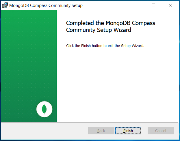 MongoDB Compass Installed