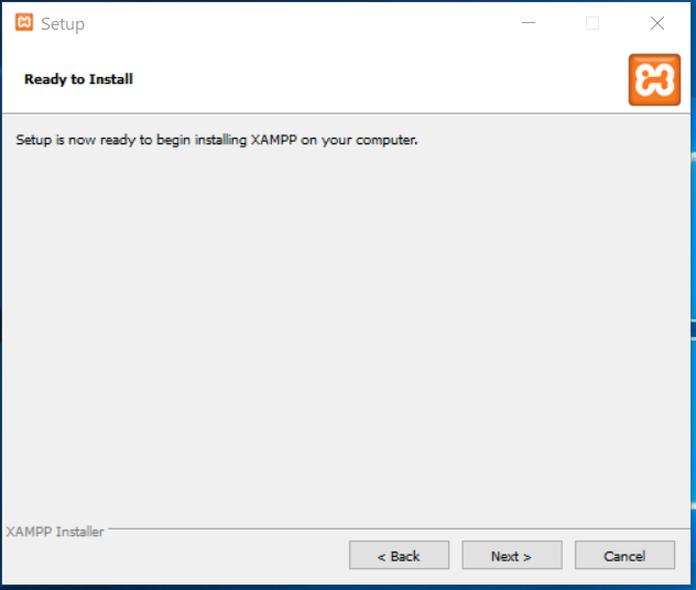 XAMPP Ready To Install