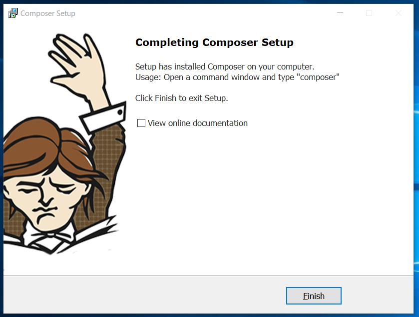 Composer Installed