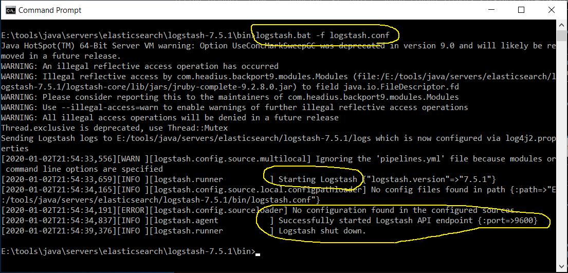Configure Logstash