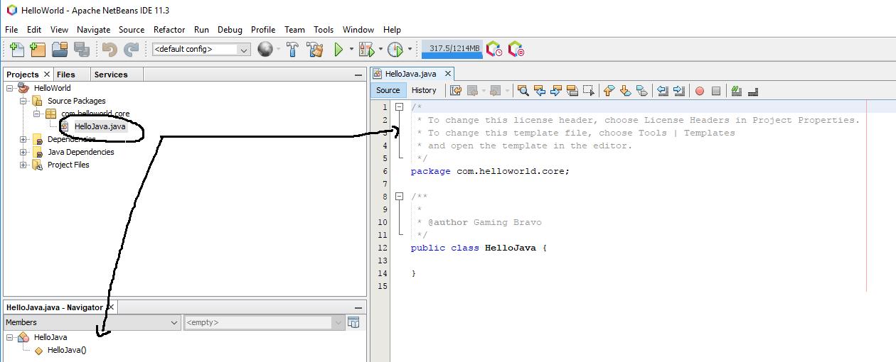 Default Java Class