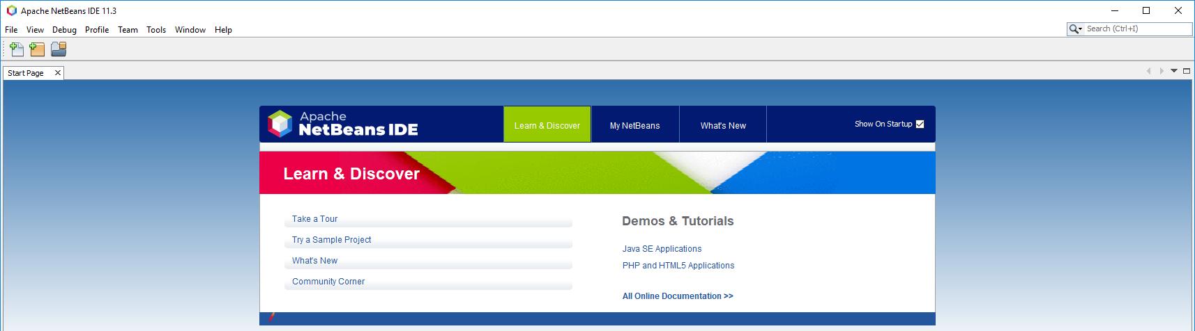 NetBeans 11 - IDE